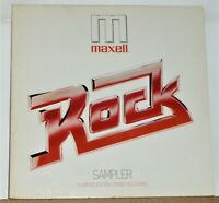 Maxell Rock Sampler - 1979 LP Record Album - Near Mint Vinyl