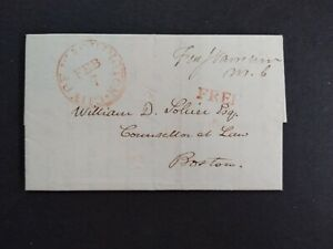 Congressional Free Frank: Varnum, John 1831 Cover, 3 Term Massachusetts Rep