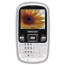 Amzer Lilly White Skin Case for Samsung Freeform R350