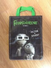 Frankenweenie  Disney Tim Burton Victor & Sparky Trick or Treat Bag Collectable