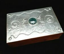 Sasha Bowles. Pewter mounted jewellery/trinket box for Liberty of London