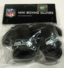 NIP NFL 4 INCH MINI BOXING GLOVES - SEATTLE SEAHAWKS