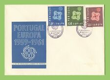 Portugal 1961 Europa set on First Day Cover