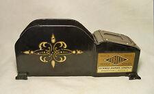 RARE 1930's HEAVY CAST IRON ENAMEL ART DECO MACHINE AGE GUM PAPER PACKAGE SEALER