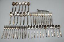 MKM Mansfeld Walzwerk Hettstedt 12 Personen ohne Messer 90er Silberbesteck193486