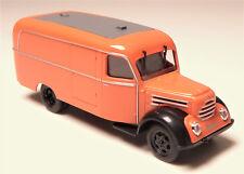 H0 BUSCH IFA Robur Garant K 30 Kastenwagen Kofferfahrzeug orange DDR # 51800