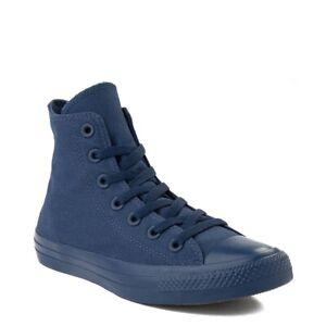 Converse Chuck Taylor All Star Hi Monochrome Sneaker Navy New Mens