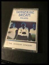 Tangerine Dream Poland Music Cassette Tape - Chrom / Zomba HIPC 22
