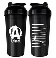 Universal Animal SHAKER 25 oz Protein Blender Mixer Bottle Cup Black