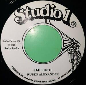 STUDIO ONE.JAH LIGHT.JAH LIGHT DUB.RUBEN ALEXANDER