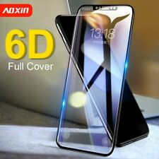 For Apple iPhone Xs Max/XR/XS/X/8 7 6 Plus Full Tempered Glass Screen Protector