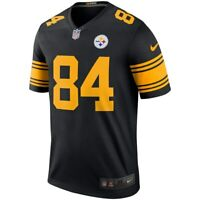 2018 NFL Nike Pittsburgh Steelers Antonio Brown #84 Color Rush Legend Jersey NWT
