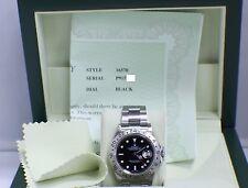 ROLEX EXPLORER II 16570 STAINLESS STEEL BLACK DIAL 2001