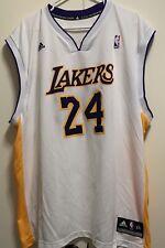 Lakers, Kobe Bryant, NBA, White Lakers jersey, #24, Adidas, Size 2XL(XXL), Kobe