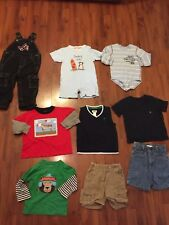 Boys Size 24 Months 2t Lot Shorts Overalls Rampers Shirts Ralph Lauren Carters
