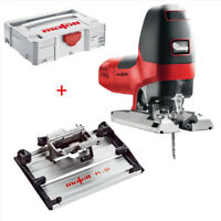 Mafell Pendulum Jigsaw | P1cc MaxiMax GB 240V + Tilting Plate | T-Max Systainer