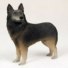 BELGIAN TERVUREN Dog HAND PAINTED FIGURINE Resin Statue COLLECTIBLE NEW