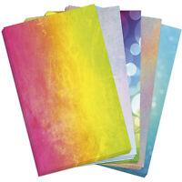 50 Blatt Briefpapier 5 x 10 A4 Briefbögen Motivpapier Bastelpapier Mix Bunt