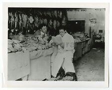 Vintage Poultry Market - Street Market - Vintage 8x10 Photograph