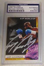 Gary Goodridge Signed 2008 Epoch K-1 Grand Prix Card PSA/DNA UFC Pride Autograph