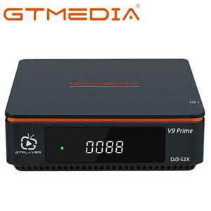 GTMEDIA V9 Prime Satellite Receiver DVB-S/S2X Sat TV TVsat Box H.265  DiSEqC 1.2