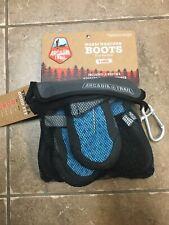 New listing Arcadia Trail Warm Weather Dog Boots, Blue/Black (X-Large)