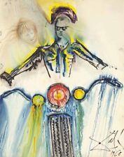 Dali Salvador The Motorcycle Canvas 16 x 20    #3607