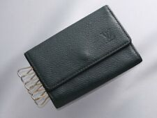 H9316M Authentic Louis Vuitton Taiga Genuine Leather Card 6-Ring Key Case