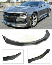 For 19-Up Camaro SS V8 Carbon Fiber ZL1 Style Front Bumper Lower Lip Splitter