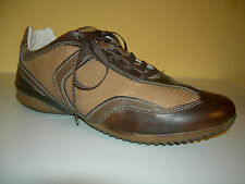 GEOX Respira Damen Schuhe Sneaker Leder Braun Gr.39 TOP