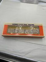 LIONEL UNION PACIFIC CENTER I BEAM FLAT CAR WOOD LOAD 6-16380 O GAUGE TRAIN F