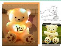 50cm Night Light Plush Lovely Teddy Bear Soft Doll Toy gift for girlfriend