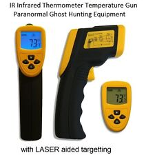 Infrared Thermometer Gun - NON CONTACT + LASER DOT - Ghost Hunting Equipment