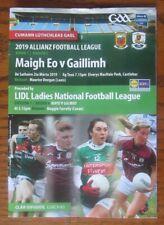 GAA 2019 - Mayo v Galway Football League - Mayo v Galway Ladies Football League
