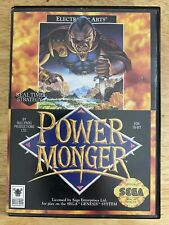 Power Monger (Sega Genesis) Case & Cart