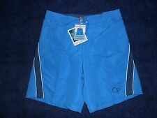 Ocean Pacific Swimming Shorts Small With Liquid Activation Print Light Blue