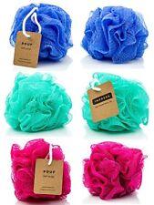 Paquete De Esponjas De Baño Mallas De Ducha Colores Variados Lufa Exfoliante