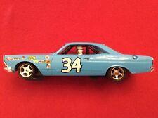 Monogram Revell #34 Wendell Scott 1967 Ford Fairlane 1/32 Slot Car Custom Used
