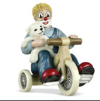Gilde Clown Teddy on Tour 35405 12 cm 60 Jahre Gilde