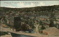 Little Falls NY Birdseye View c1910 Postcard