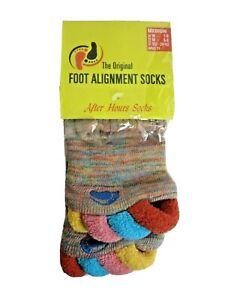 Original Foot Alignment Socks Multi Color Women's 7-9 Mens 5-8 NEW