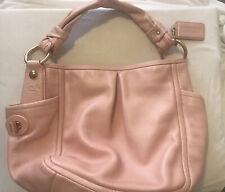 Coach Pink Parker Leather Hobo Bag #13412