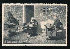 Belgium BRUGGE BRUGES LACE Ladies lacemaking Les Dentellieres 1946? PPC