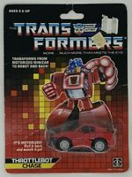 Transformers Chase 1986 action figure