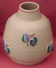Unboxed Earthenware Poole Pottery Vases