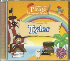 TYLER - THE BEST EVER PIRATE SONGS & STORIES PERSONALISED CHILDREN'S CD