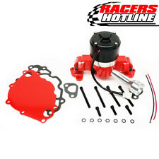 Racers Hotline Ford 302 - 351W SBF Racing Electric Water Pump - Red