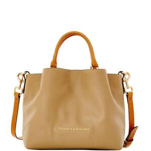 *Dooney & Bourke* City Leather*MUSHROOM* Large Barlow Bag 17278C S161