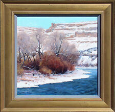 "Gordon Brown ""Rolling Colorado River"" Signed Original Oil Painting on board 1990"