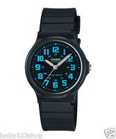 MQ-71-2B Black Blue Casio Watches Unisex Resin Band New Model Analog Quartz